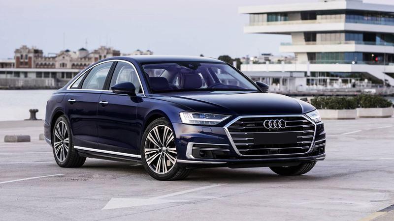 Hình ảnh chi tiết xe Audi A8 2019 hoàn toàn mới - Ảnh 1