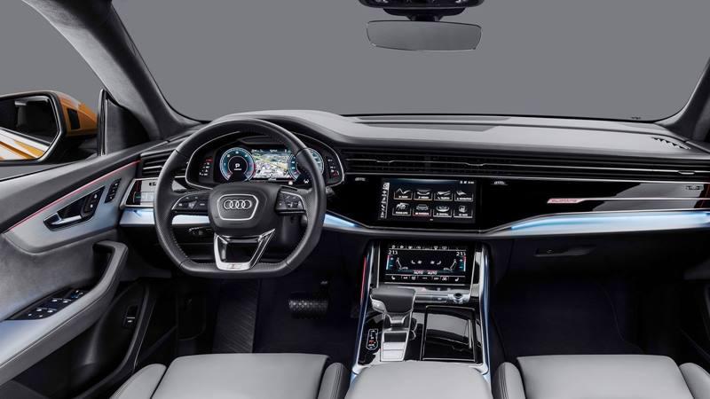 Audi Q8 2019 hoàn toàn mới - đối thủ BMW X6, Mercedes GLE - Ảnh 4