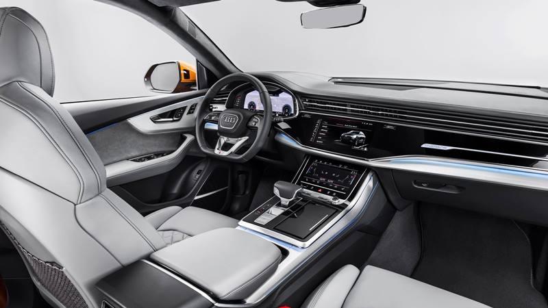 Audi Q8 2019 hoàn toàn mới - đối thủ BMW X6, Mercedes GLE - Ảnh 5