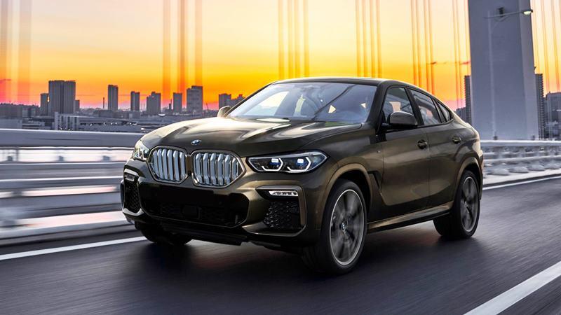 SUV thể thao BMW X6 2020 thế hệ mới - Ảnh 1