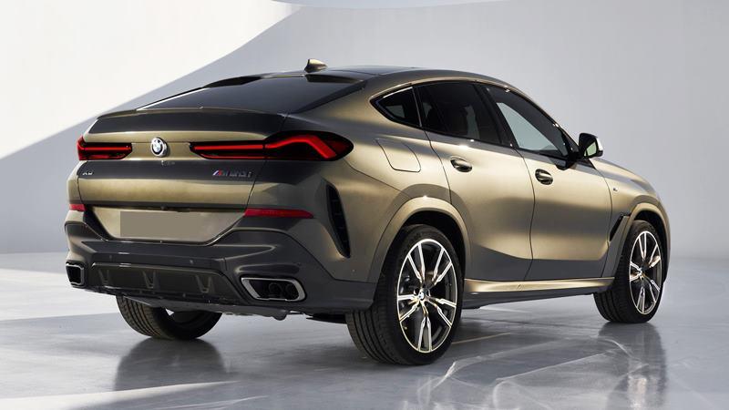SUV thể thao BMW X6 2020 thế hệ mới - Ảnh 3