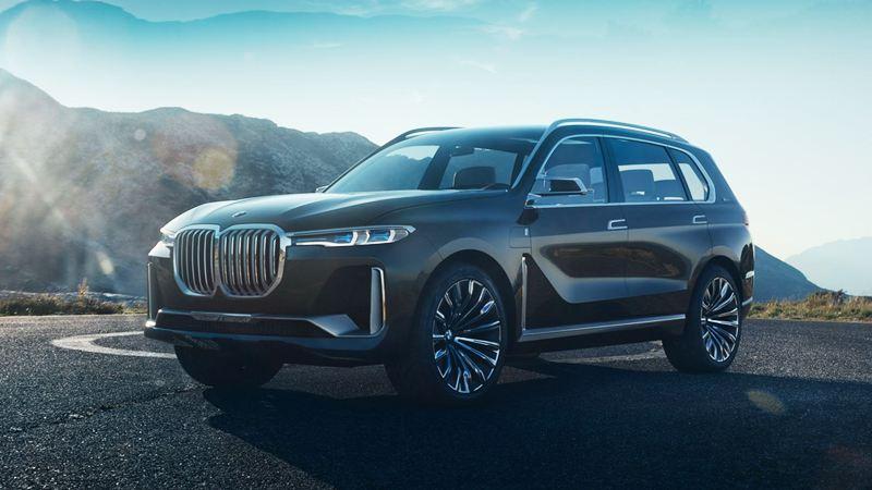 BMW X7 lần đầu nhá hàng trước giờ G - Hình 1