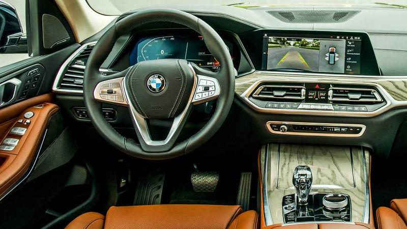 Chi tiết thông số và trang bị xe BMW X7 xDrive40i 2019 tại Việt Nam - Ảnh 8