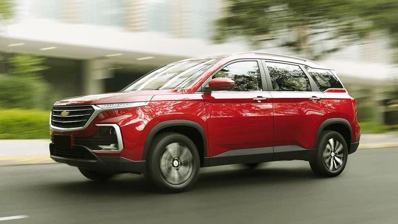 Chevrolet Captiva 2020 thế hệ mới, lựa chọn 5 chỗ và 7 chỗ ngồi - Ảnh 2