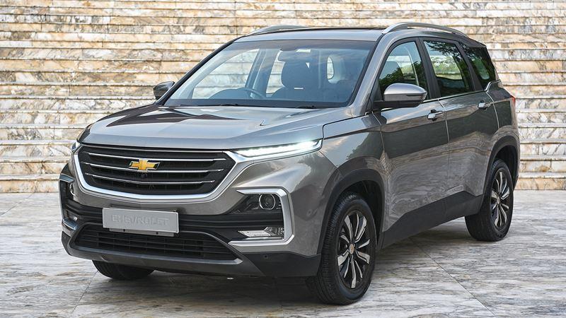 Chevrolet Captiva 2020 thế hệ mới, lựa chọn 5 chỗ và 7 chỗ ngồi - Ảnh 1