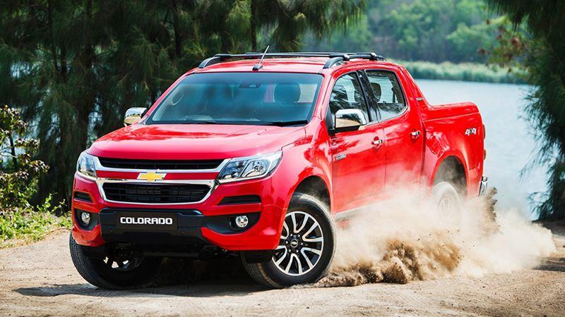 Đánh giá Chevrolet Colorado HighCountry 2017: Nâng cấp giá trị