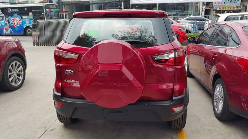 Ford EcoSport 2018 ''phiên bản taxi'' được trang bị những gì? - Hình 2