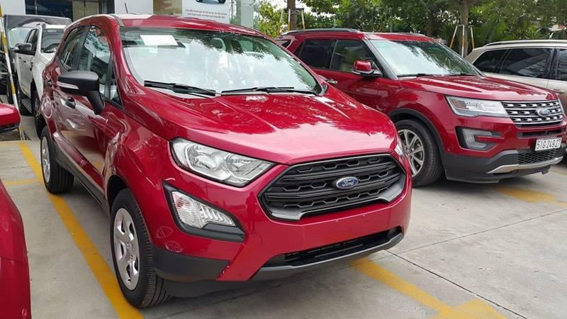 Ford EcoSport 2018 ''phiên bản taxi'' được trang bị những gì? - Hình 1