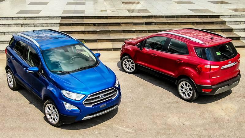 Ford Ecosport 2020 mới nâng cấp có giá từ 603 triệu đồng - Ảnh 1