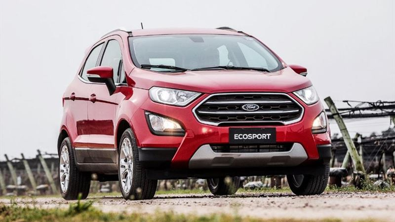 Chi tiết phiên bản Ford EcoSport Titanium 1.0L EcoBoost 2018 - Ảnh 12
