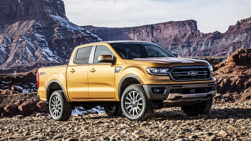 chi tiết xe Ford Ranger 2019