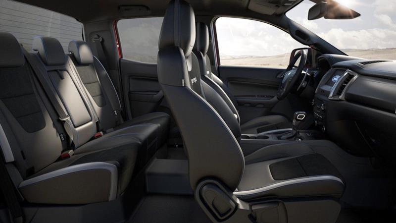 Thông số kỹ thuật và trang bị xe Ford Ranger Raptor 2019 tại Việt Nam - Ảnh 5