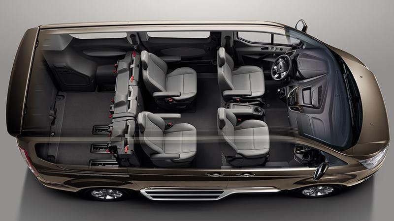 Thông số kỹ thuật và trang bị xe 7 chỗ Ford Tourneo 2019 tại Việt Nam - Ảnh 5