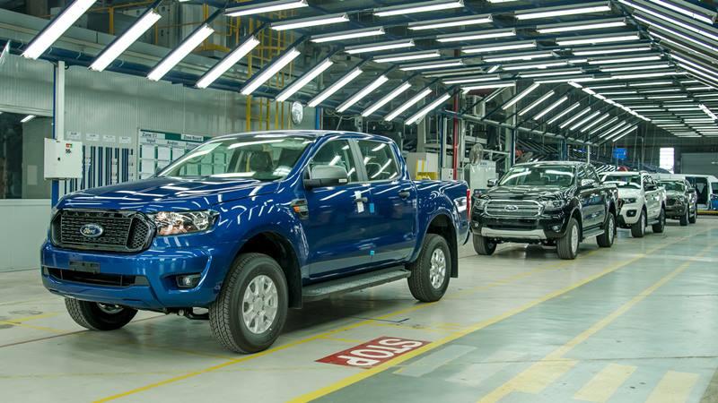 Giá bán xe Ford Ranger 2021 lắp ráp tại Việt Nam từ 616 triệu đồng - Ảnh 1