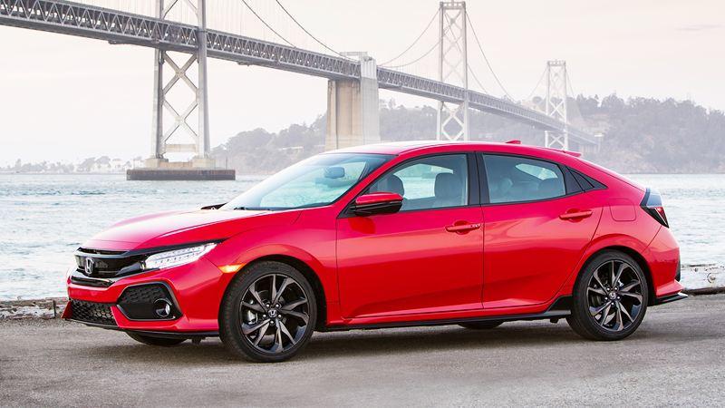 Giá xe Honda Civic Hatchback 2017 từ 17.900 USD - Ảnh 1