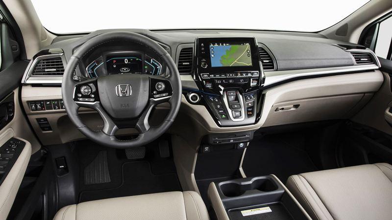 Giá xe Honda Odyssey 2018 bản Mỹ từ 30.890 USD - Ảnh 4
