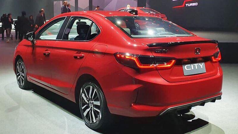 Honda City 2020 thế hệ mới - Kích thước lớn hơn, động cơ 1.0L Turbo - Ảnh 5