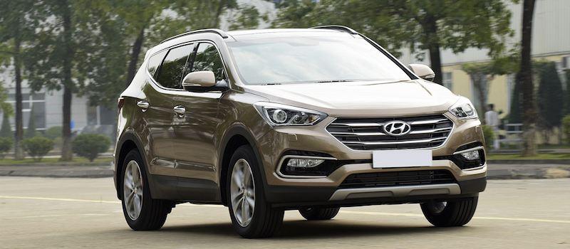 Đánh giá xe Hyundai Santafe 5 chỗ 2018 - Hình 1
