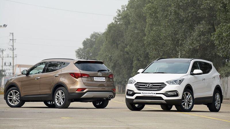 Hyundai SantaFe 2017 khuyến mãi giảm giá đến 230 triệu đồng - Ảnh 1