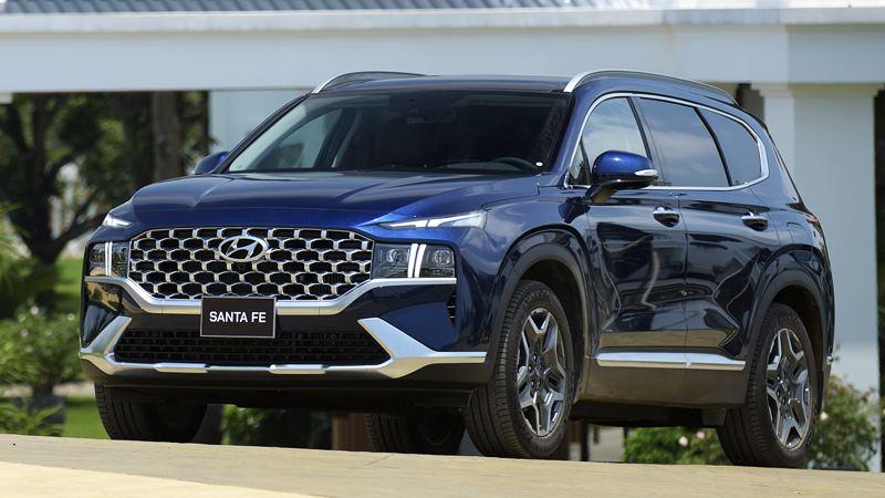 Giá bán xe Hyundai SantaFe 2021 tại Việt Nam từ 1,030 tỷ đồng - Ảnh 9