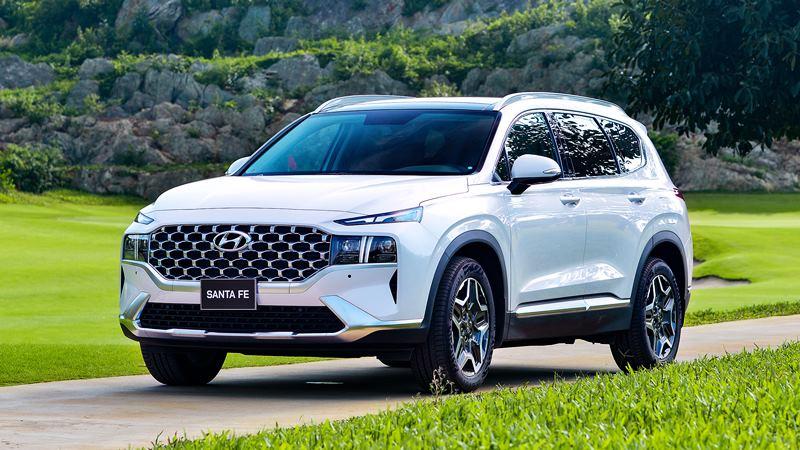 Giá bán xe Hyundai SantaFe 2021 tại Việt Nam từ 1,030 tỷ đồng - Ảnh 4