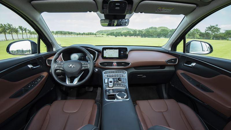 Giá bán xe Hyundai SantaFe 2021 tại Việt Nam từ 1,030 tỷ đồng - Ảnh 5