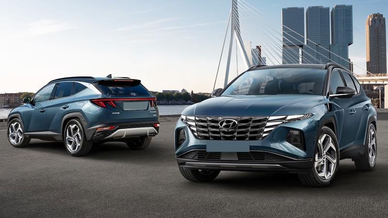 Hyundai Tucson 2021 thế hệ mới - Ảnh 1