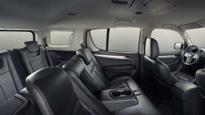 So sánh xe Toyota Fortuner và Isuzu MU-X 2016 bản động cơ diesel 2.5MT - Ảnh 10