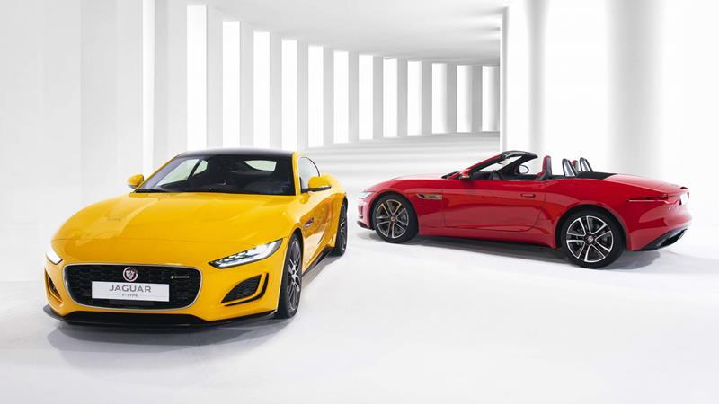 Xe thể thao Jaguar F-Type 2021 có giá từ 5,6 tỷ đồng tại Việt Nam - Ảnh 1