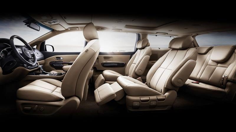 Kia Grand Sedona 2018 phiên bản mới nâng cấp thiết kế và trang bị - Ảnh 3