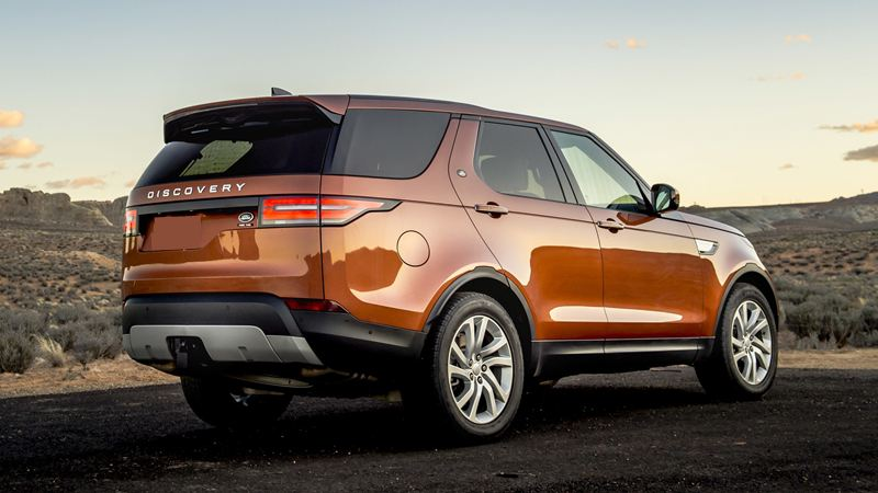 Giá xe Land Rover Discovery 2018