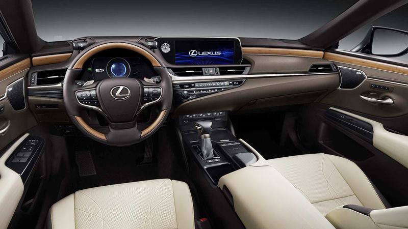 Camera trở thành gương chiếu hậu tiêu chuẩn trên Lexus ES 2019 mới - Hình 2