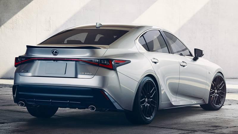 Giá bán xe Lexus IS 2021 tại Việt Nam từ 2,13 tỷ đồng - Ảnh 5