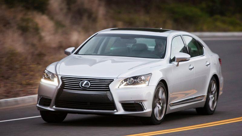 Hoàn toàn mới Lexus LS sedan sẽ được hé mở tại triển lãm ôtô Detroit