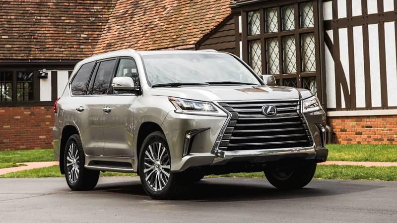Giá xe Lexus LX 2018