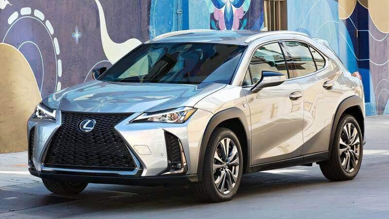 Lexus không sản xuất xe có giá dưới Lexus UX 2019
