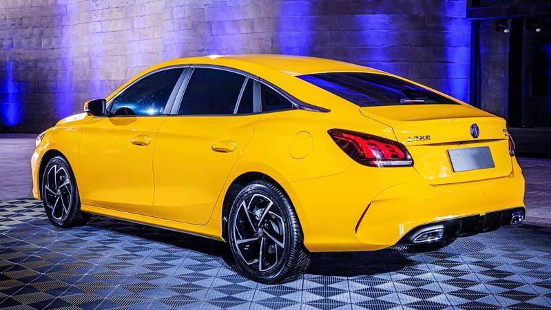 Sedan giá mềm MG 5 2021 - Đối thủ của Mazda 3, Kia Cerato - Ảnh 5