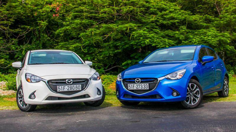 Cấc đời xe được bán tại cửa hàng Mazda Biên Hòa