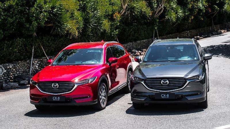 Mazda CX-8 2019 chính thức bán tại Việt Nam - giá từ 1,149 tỷ đồng - Ảnh 7