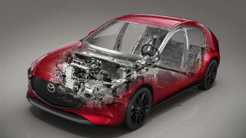 Động cơ Skyactiv-X và khung gầm Skyactiv-Vehicle Architecture của Mazda - Ảnh 1