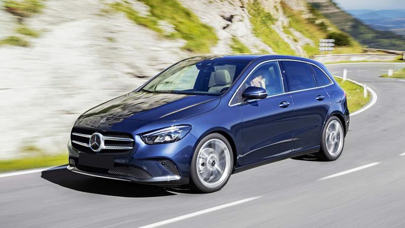 Mercedes-Benz B-Class hoàn toàn mới bắt đầu được sản xuất - Hình 1
