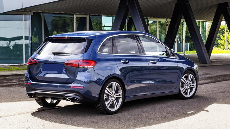 Mercedes-Benz B-Class hoàn toàn mới bắt đầu được sản xuất - Hình 2