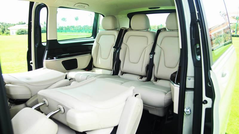 Giá bán và thông tin chi tiết xe 7 chỗ Mercedes V-Class tại Việt Nam - Ảnh 6