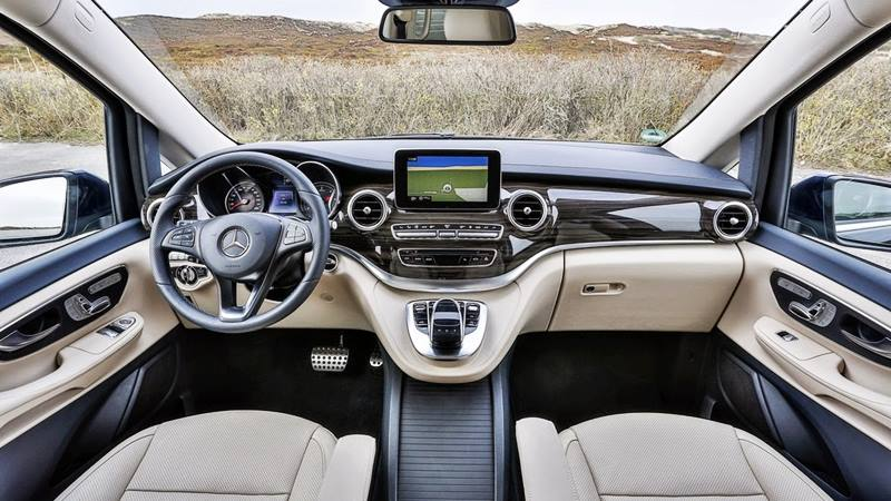 Đánh giá xe Mercedes-Benz V-Class 2018 - Hình 2