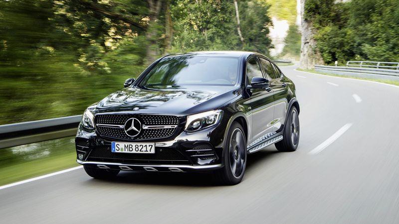 Mercedes-AMG GLC 43 Coupe trình làng tại Thái Lan, giá từ 3,24 tỷ đồng - Hình 1