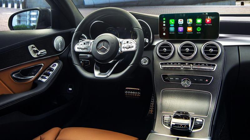 Thông số kỹ thuật và trang bị xe Mercedes C300 AMG 2019 tại Việt Nam - Ảnh 8