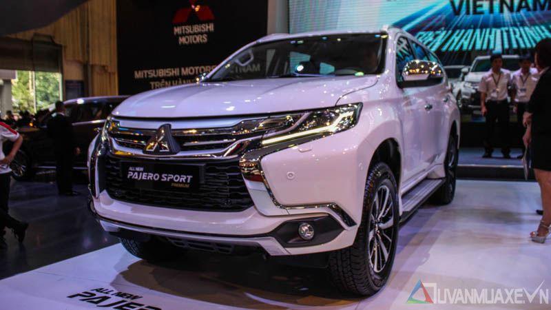 Hình ảnh chi tiết Mitsubishi Pajero Sport 2017 tại Việt Nam - Ảnh 2