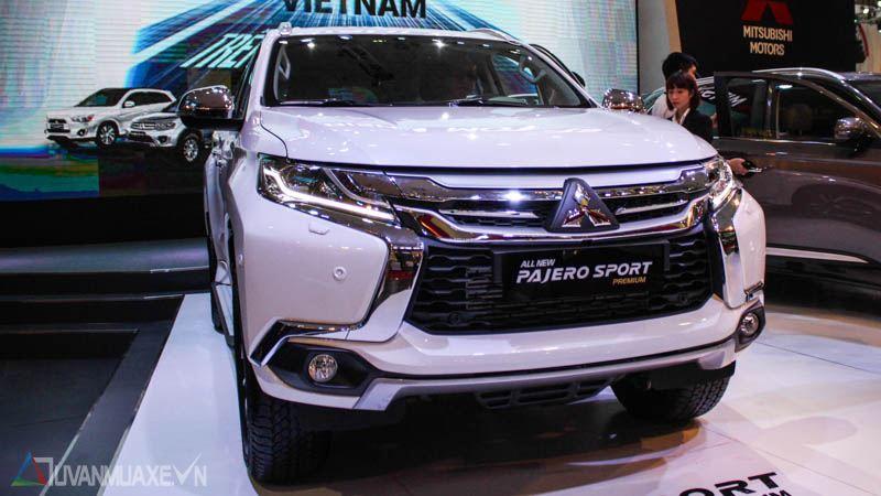 Hình ảnh chi tiết Mitsubishi Pajero Sport 2017 tại Việt Nam - Ảnh 1