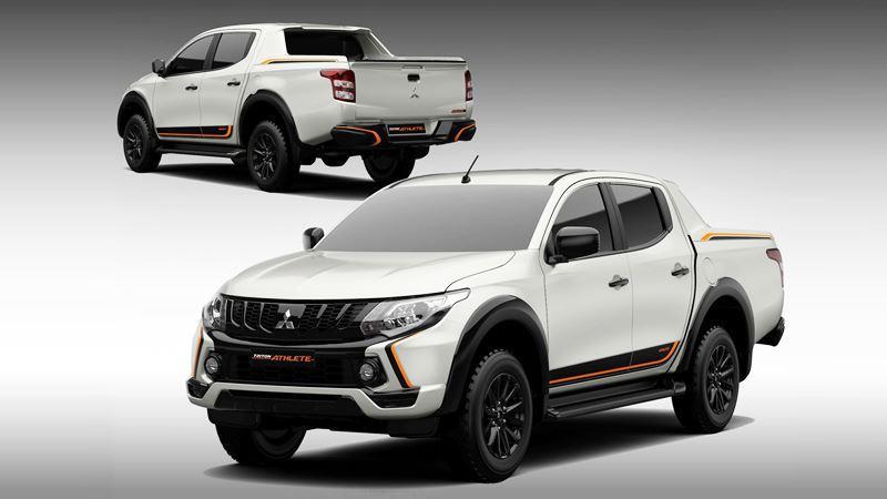 Mitsubishi ra mắt Trion Athlete – rẻ hơn Ranger Wildtrak gần 80 triệu đồng