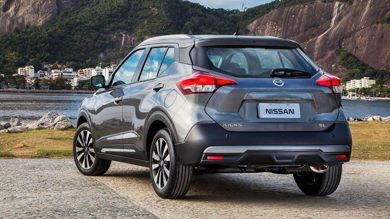 Đối thủ của Ford EcoSport - Nissan Kicks 2018